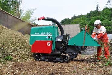 樹木粉砕機用途1
