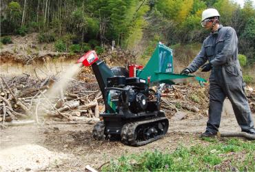 樹木粉砕機用途2