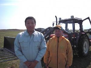 中型トラクタ北海道遠別農業高校