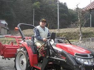 小型トラクタ西日本谷様