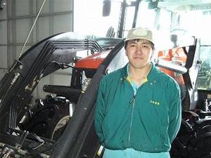 大型ローダ道央土田様
