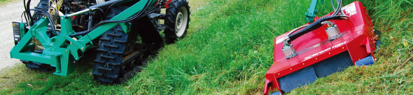 Arm-type GrassMower for Tractors